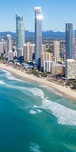 The spectacular Gold Coast, Australia's favourite destination